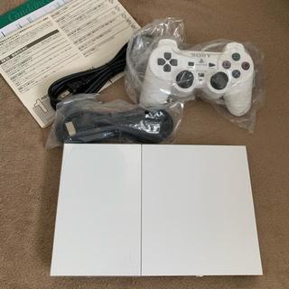 プレイステーション2(PlayStation2)のソニー プレイステーション2 SCPH90000 cw 未使用(家庭用ゲーム本体)