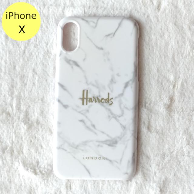 Fendi iPhone7 plus ケース 財布 、 Harrods - Harrods 大理石柄 ハード iPhoneケース X ホワイトの通販 by Pochi公's shop|ハロッズならラクマ