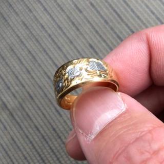 指輪 K18 pt900(リング(指輪))