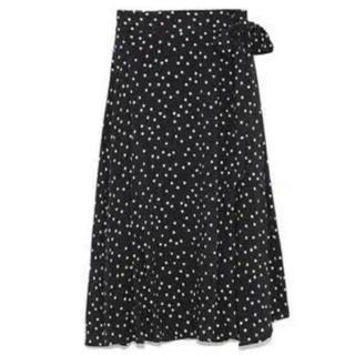 ミラオーウェン(Mila Owen)のミディラップスカート milaowen(ロングスカート)