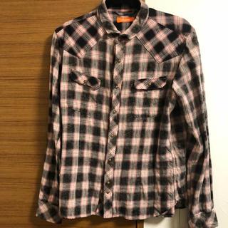 ハイダウェイ(HIDEAWAY)のHIDE AWAYチェックシャツ(シャツ)