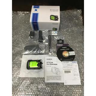 オリンパス(OLYMPUS)のOLYMPUS アクションカメラ STYLUS TG-Tracker グリーン (コンパクトデジタルカメラ)