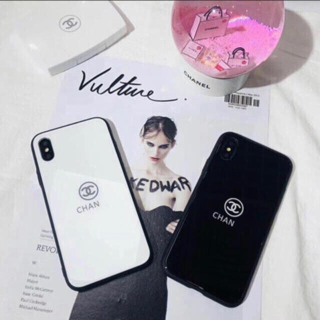 Miu Miu iPhone8 ケース 三つ折 | CHANEL - CHANEL iPhone7plus 鏡面ケース ブラックの通販 by lihua41's shop|シャネルならラクマ
