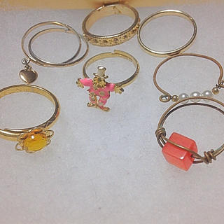 グリモワール(Grimoire)の指輪 まとめ売り(リング(指輪))