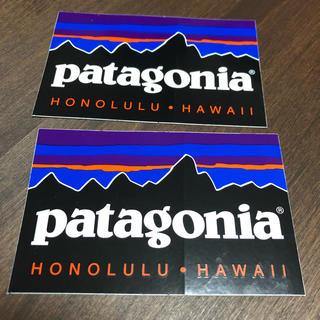 パタゴニア(patagonia)のHawaii patagonia ステッカー2枚(シール)