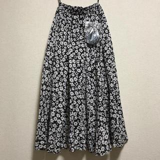 シマムラ(しまむら)の春夏仕様 花柄 スカート(ロングスカート)