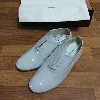 レペット(repetto)のRepetto ジジ ライトグレー 36サイズ(ローファー/革靴)