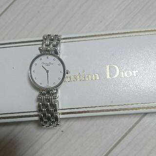 ディオール(Dior)のクリスチャン・ディオール バギラ 12Pダイヤモンド(腕時計)