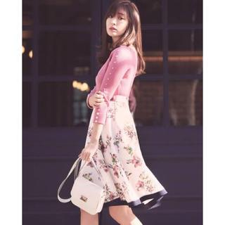 リランドチュール(Rirandture)のリラ♡ フラワースカート(ひざ丈スカート)