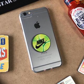 ナイキ(NIKE)のポップソケット スマホリング(iPhoneケース)