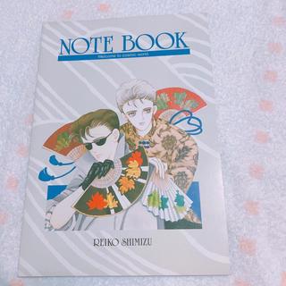 ハクセンシャ(白泉社)の清水玲子先生が描いたイラストノート(ノート/メモ帳/ふせん)
