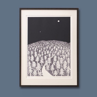 ミナペルホネン(mina perhonen)の皆川明 KLIPPAN x mina perhonen A3ポスター (その他)