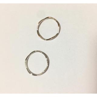 エイチアンドエム(H&M)のシルバーリング(リング(指輪))