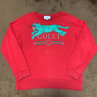 57b91cb8f0a8 グッチ(Gucci)のGUCCI スウェット シャツ ロゴ タイガー 虎 トレーナー(スウェット)