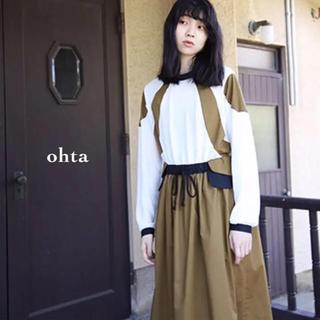 オータ(ohta)のkaorihirao様専用◡̈ohta(オオタ)jyobitaki dress(ロングワンピース/マキシワンピース)