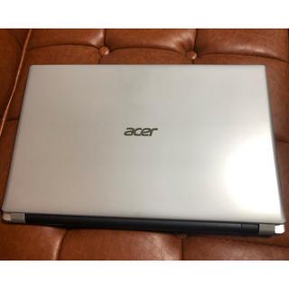 エイサー(Acer)のノートパソコン Acer Aspire V5-531P-H14F/S(ノートPC)