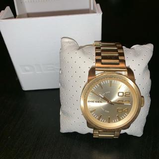 ディーゼル(DIESEL)のDIESEL 腕時計 ゴールド メンズ レディース 新品(腕時計(デジタル))