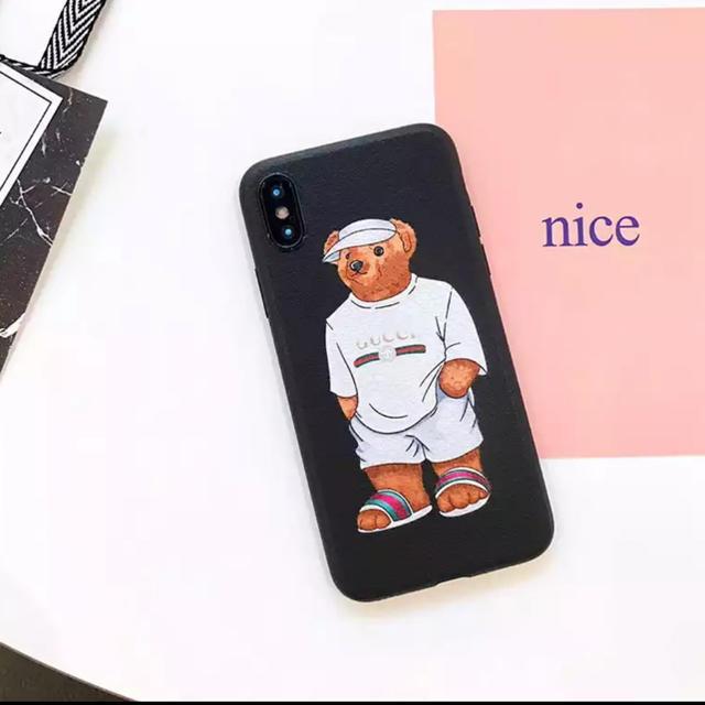 大人気★ iPhoneケース ポロベア 熊 ブランド 可愛いの通販 by リツshop 海外|ラクマ
