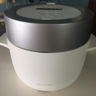 バルミューダ(BALMUDA)のバルミューダ  炊飯器(炊飯器)