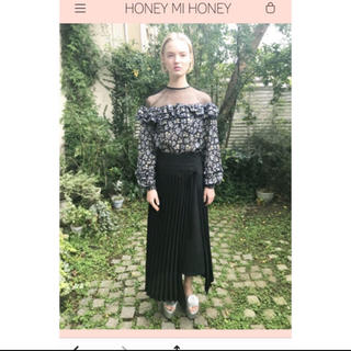 ハニーミーハニー(Honey mi Honey)のHONEY MI HONEY ❤︎ ブラック ロング スカート(ロングスカート)