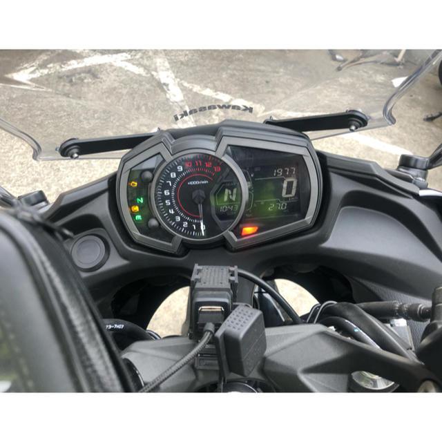 カワサキ(カワサキ)のninja650 2018年式 走行2000km ABS 自動車/バイクの自動車(車体)の商品写真