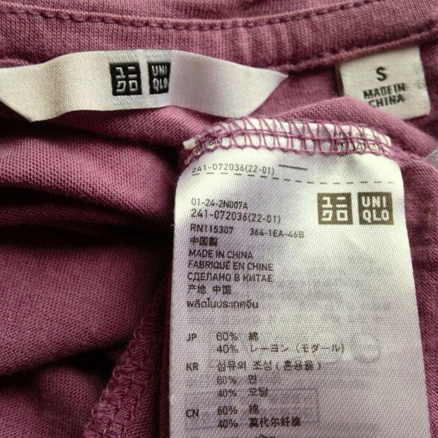 UNIQLO(ユニクロ)のシフォンブラウス&Tシャツセット レディースのトップス(シャツ/ブラウス(半袖/袖なし))の商品写真