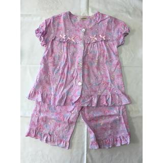 ボンボンリボン(ぼんぼんりぼん)のサンリオ☆ぼんぼんりぼん女の子用パジャマ(110cm)(パジャマ)