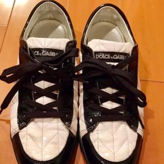 ドルチェアンドガッバーナ(DOLCE&GABBANA)のドルチェ&ガッバーナ DOLCE & GABBANA ドルガバ エナメルシューズ(ローファー/革靴)