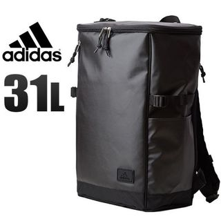 アディダス(adidas)の■アディダス スクエア型リュックサック 31L 黒■通学用バッグに(バッグパック/リュック)
