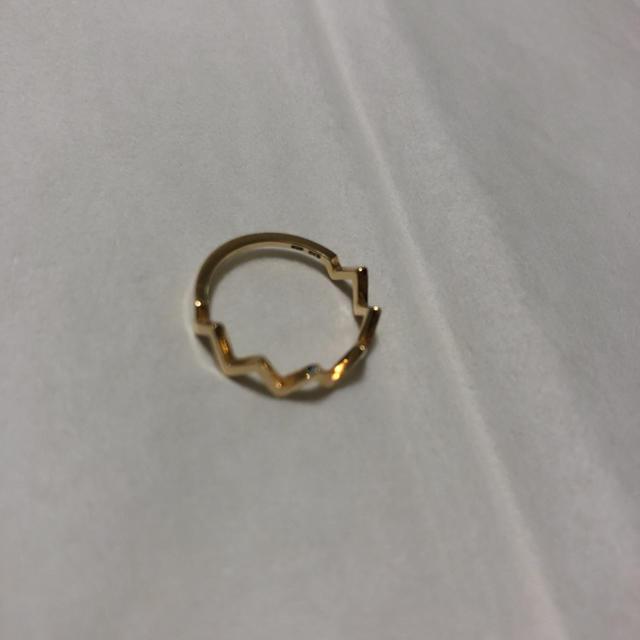 ete(エテ)のete ピンキーリング K10 ゴールド レディースのアクセサリー(リング(指輪))の商品写真