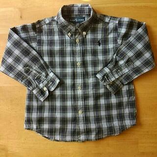 ラルフローレン(Ralph Lauren)のラルフローレン チェック シャツ 90 95(ブラウス)