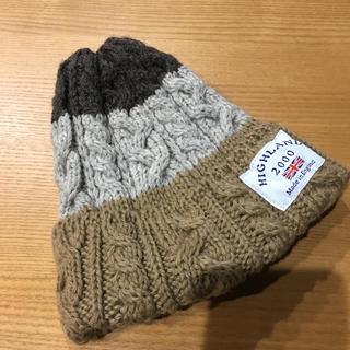ハイランドクラブ(Hiland Club)のハイランド highland ニット帽 未使用品(ニット帽/ビーニー)