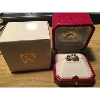 カルティエ(Cartier)のカルティエ ハートモチーフダイヤリング【SALE】(リング(指輪))