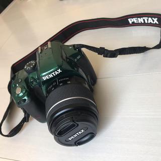 ペンタックス(PENTAX)のPENTAX k-50 メタルグリーン(デジタル一眼)