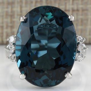 新品 ロンドン ブルー トパーズ リング 11号 指輪(リング(指輪))
