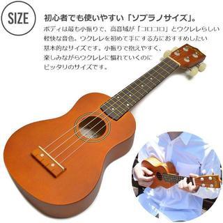 バカ売れ☆ウクレレ 初心者セット アラモアナ UK100(その他)