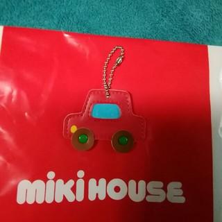 ミキハウス(mikihouse)のMIKI HOUSEクルマネームプレート💴⤵(ポシェット)