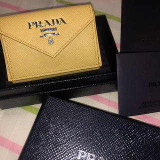 3e50227e2b62 プラダ 財布(レディース)(イエロー/黄色系)の通販 53点 | PRADAの ...