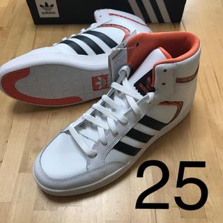 アディダス(adidas)のアディダス  ハイカット  スニーカー  ☆  25(スニーカー)