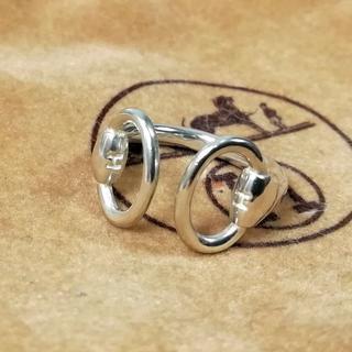 エルメス(Hermes)の希少 美品 エルメス ホースビット H シルバー リング 指輪 TH2(リング(指輪))