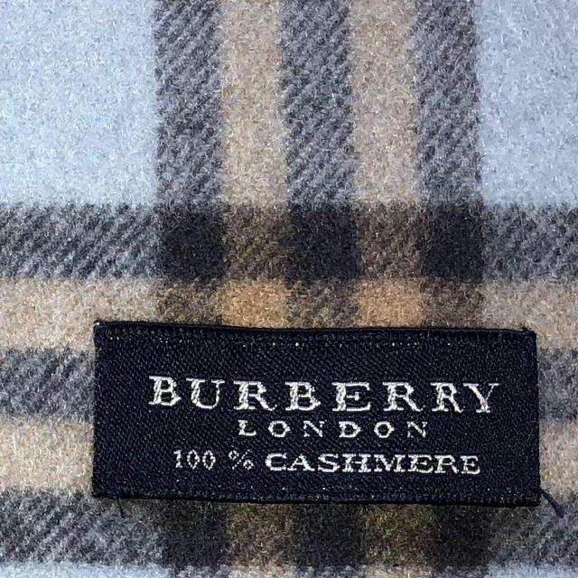 BURBERRY(バーバリー)の【今だけ特価!!】 バーバリー クリーニング済みカシミヤマフラー 【美品】 メンズのファッション小物(マフラー)の商品写真
