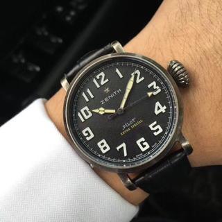 ゼニス(ZENITH)の希少 ほぼ新品 ゼニス 腕時計 ZENITH(腕時計(アナログ))