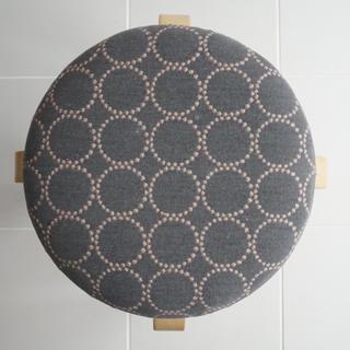 ミナペルホネン(mina perhonen)のミナペルホネン  タンバリン グレー スツール 椅子(スツール)
