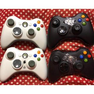 エックスボックス360(Xbox360)のXBOX360無線コントローラー(家庭用ゲーム本体)