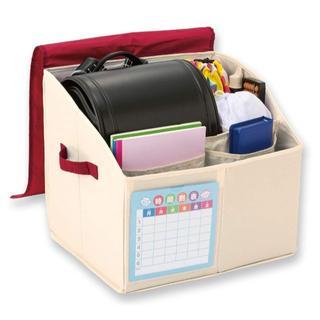 新学期にランドセル 収納ボックス 整理箱(その他)