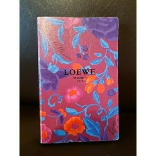 ロエベ(LOEWE)のLOEWE  ロエベ メモ帳 ノート 手帳(ノート/メモ帳/ふせん)