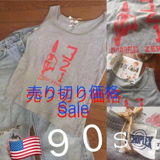 グリモワール(Grimoire)のアメリカ古着 90s タンクトップ USA(Tシャツ(半袖/袖なし))