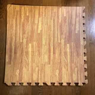 タンスのゲン 6畳用 32枚組 木目調ジョイントマット 大判 60cm (フロアマット)