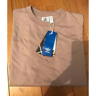 アディダス(adidas)のadidas ベージュ無地Tシャツ メンズXS 新品未使用(Tシャツ/カットソー(半袖/袖なし))