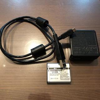 オリンパス(OLYMPUS)のOLYMPUS 充電器 バッテリー(バッテリー/充電器)